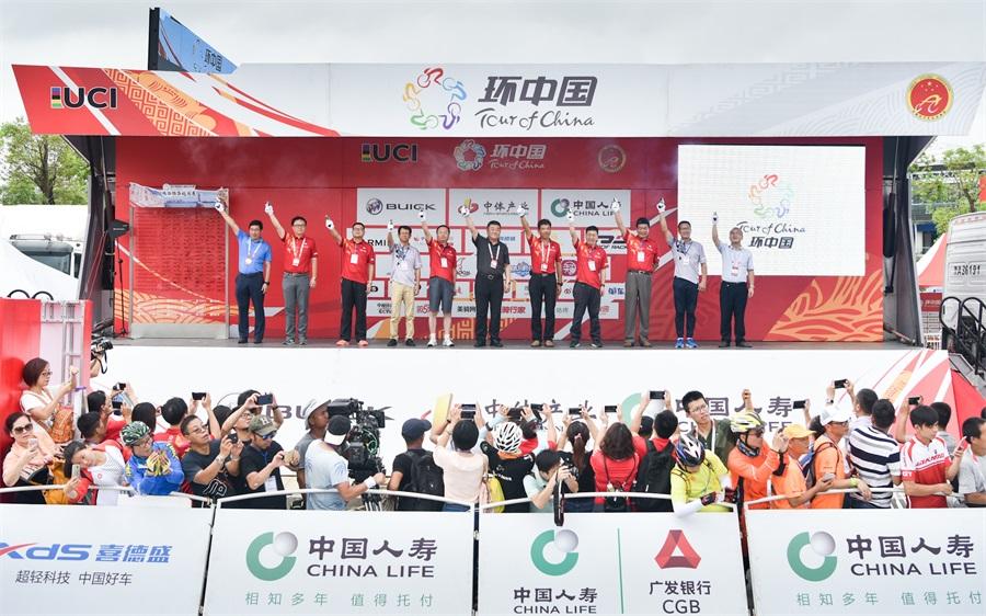 喜德盛赞助2017环中国国际公路自行车赛——珠海圆满收官